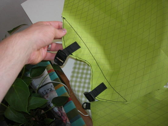 Sewing top reinforcements