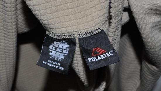 Patagonia R1, Polartec Power Dry And Military ECWCS Tops