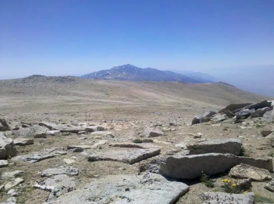 White Mountain Peak from Mt. Dubois