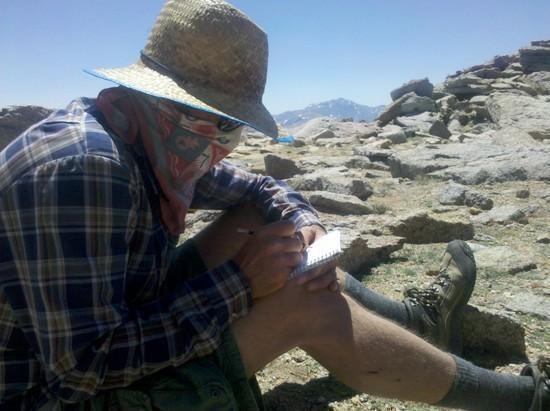 Scott on Mt. Dubois