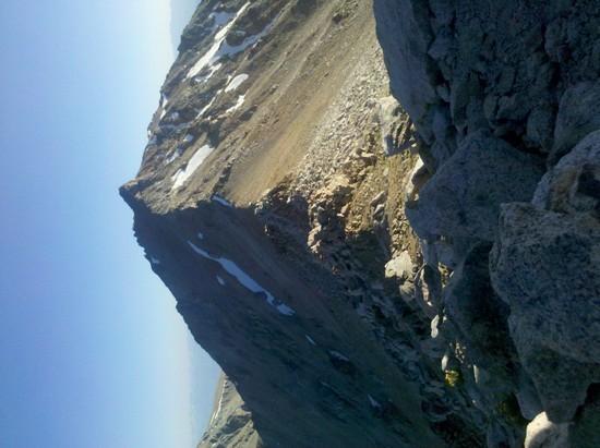 Montgomery Peak, CA from Boundary Peak, NV