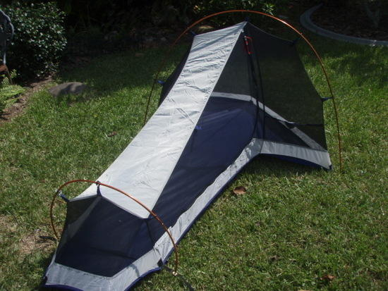 Tent without fly & FS: Mountain Hardwear Sprite 1 ultralite tent - Backpacking Light