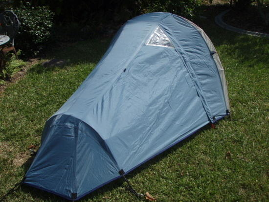 With fly & FS: Mountain Hardwear Sprite 1 ultralite tent - Backpacking Light
