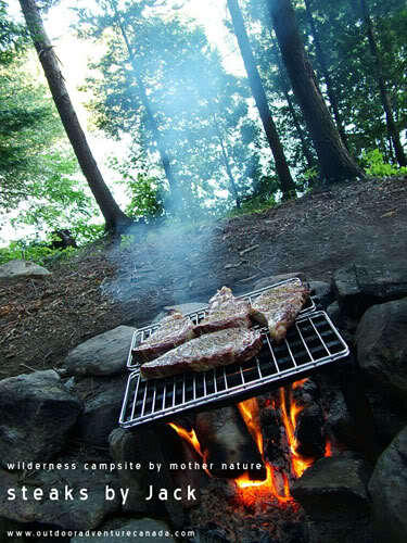 Steaks in the Backcountry