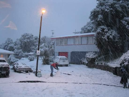 Wellington Snow 1