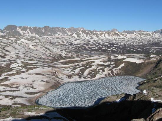 San Juan Mountains of Colorado along the Continental Divide