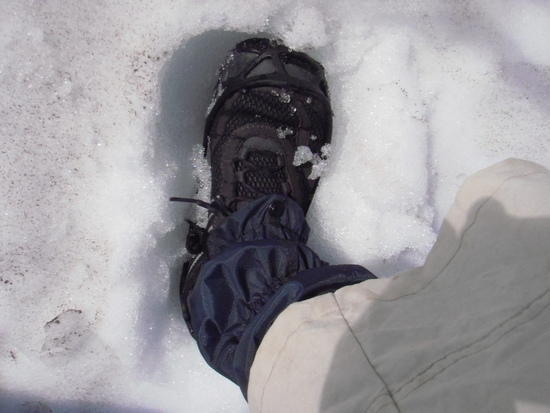 Trail Gloves in the snow