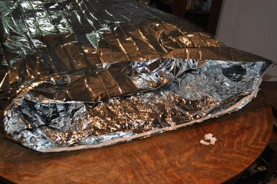 Space blanket Garlington Insulator