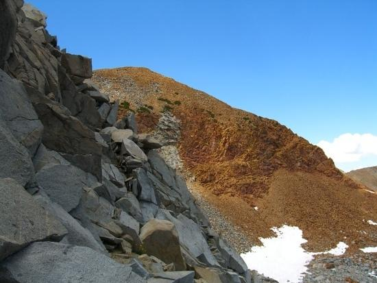 Red Peak from the pass