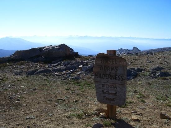 Out of Yosemite and into Ansel Adams Wilderness