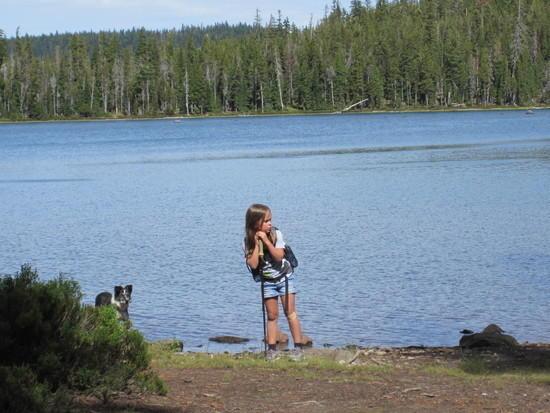 Lake break.