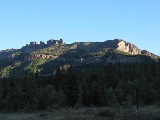 Pinnacles above Lost Creek CG