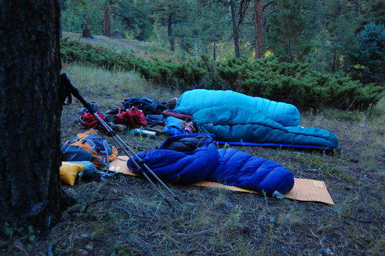 Slept out under the stars