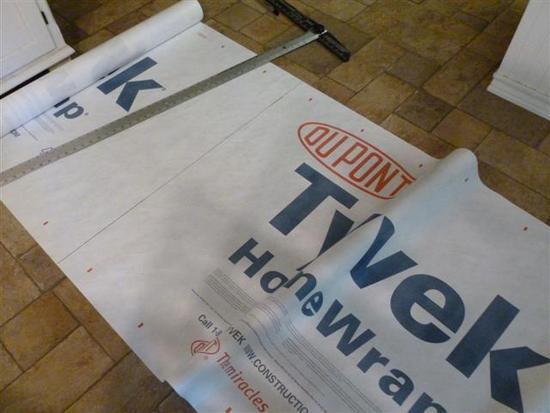 Step 1 & MYOG Tyvek Footprint 4.5 oz under $8 - Backpacking Light