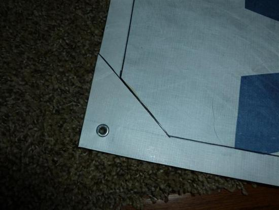 I was really amazed how much the feel and properties of the material changed by doing this almost like transforming it from paper to fabric. & MYOG Tyvek Footprint 4.5 oz under $8 - Backpacking Light