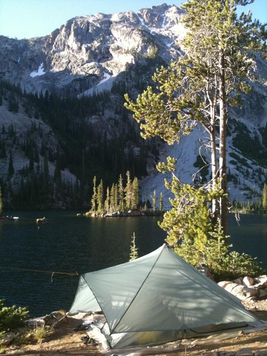 Trailstar at the Sawtooths