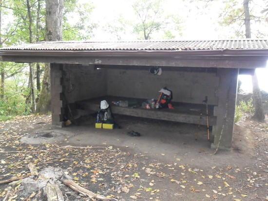 My Orange XPAC Pack on Vandeventer Shelter Deck