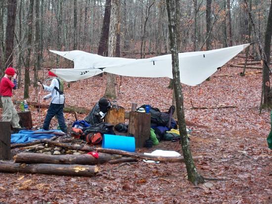 Wet Camp, Pine Mountain 2010