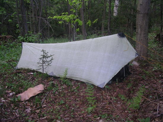 Mountain Laurel Designs Patrol Shelter on the AT