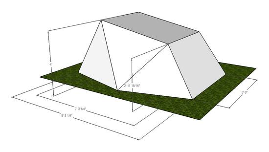 Two Person Tent Initial Design