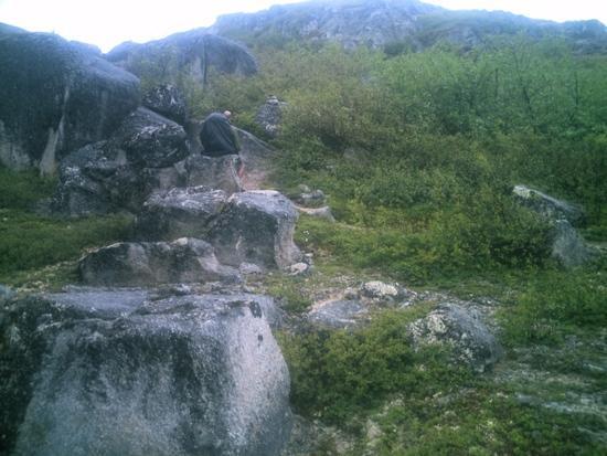 Exploring boulders