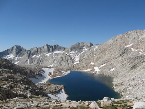Unnamed Lake above Lake Mariam