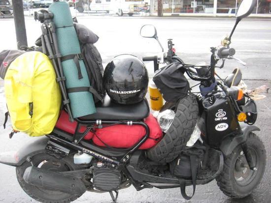 Honda Ruckus - Backpacking Light