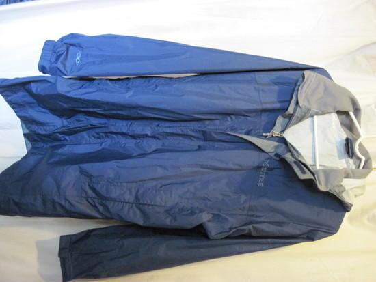 Marmot PreCip Traveler Jacket. Worn a couple of times around town. 60.