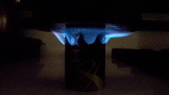 axe stove