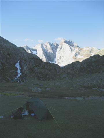 Vignemale - tent