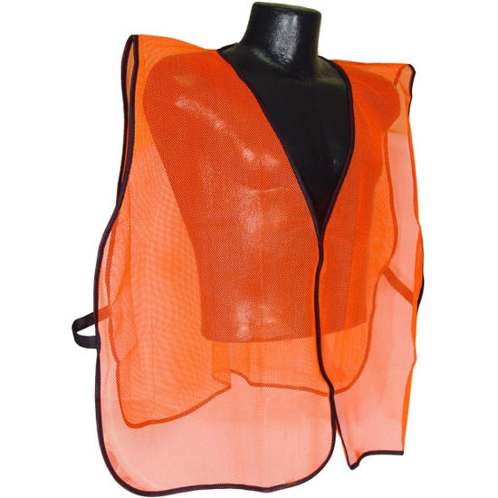 Blaze Orange Safety Vest