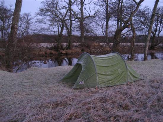 Vaude sag in frost