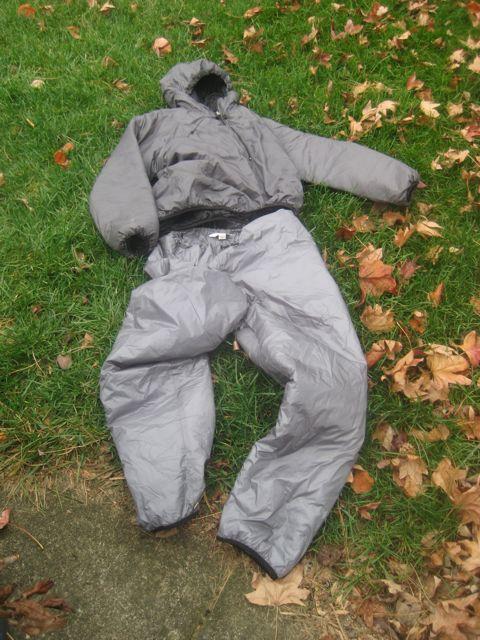 BPL hoodie and pants