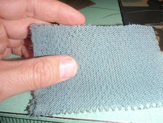 backside of mesh