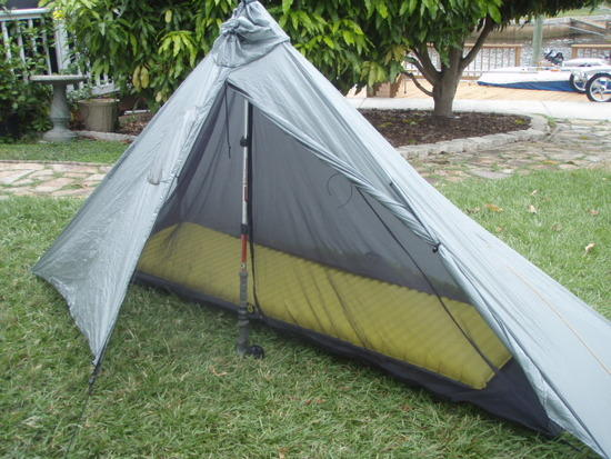 Gatewood Cape with Serenity Tent