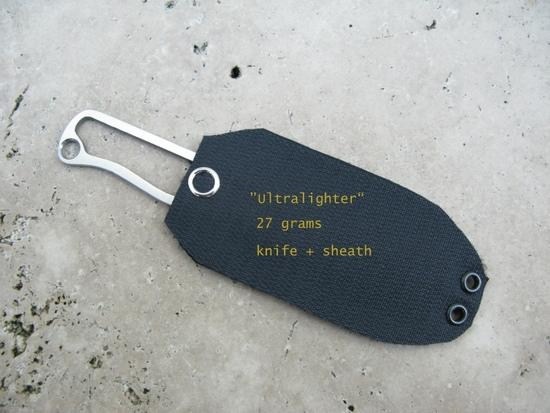 Ultralighter in S35VN