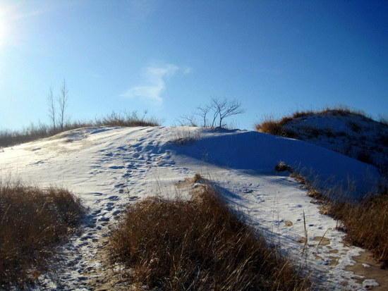 snowy dune