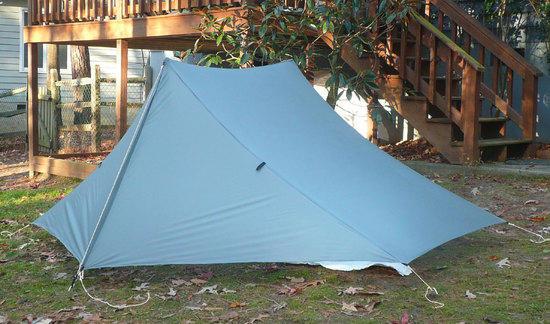 homemade shaped tarp