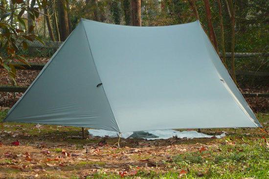 homemade shaped tarp 2