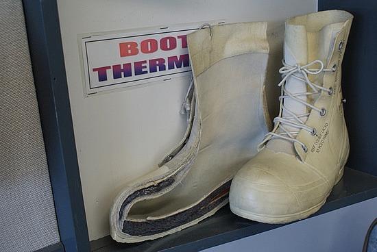 Bunny Boot cutaway