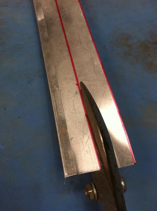 Cut to width