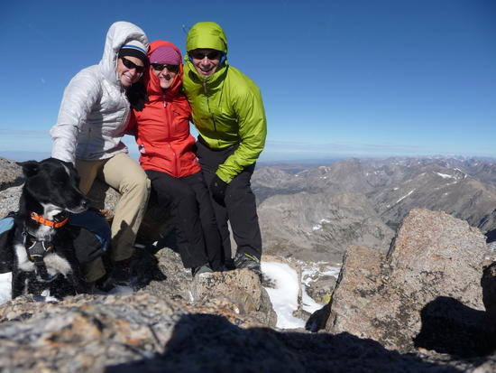 Not winter yet, but isingle digits wind chill on Wind River Peak