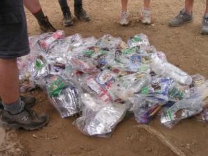 Philmont food pile