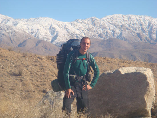 Joe in Anza Borrego