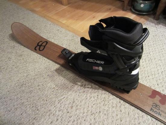 First impressions of the Altai Hok Skis - Backpacking Light