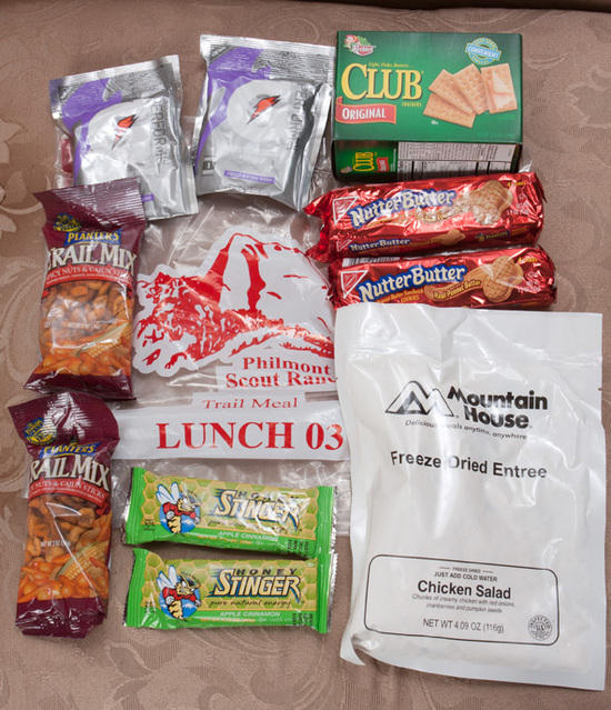 Philmont Lunch Pack