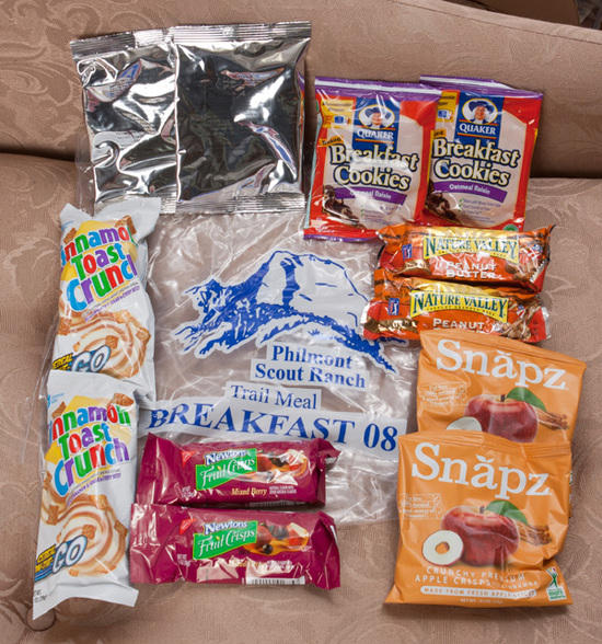 Philmont Breakfast Pack