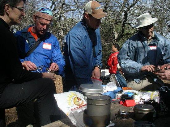Hikin Jim and his stove collection