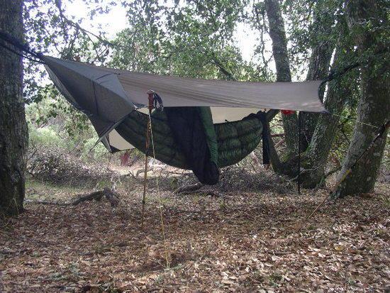 Kat's hammock setup