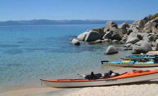 Paddling the Lake Tahoe Shoreline